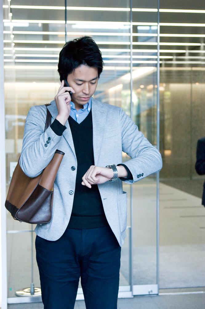 外出間際! 時間を守ることは信用を守ること。タイムマネジメントの大切さをスタッフみんな知っています。