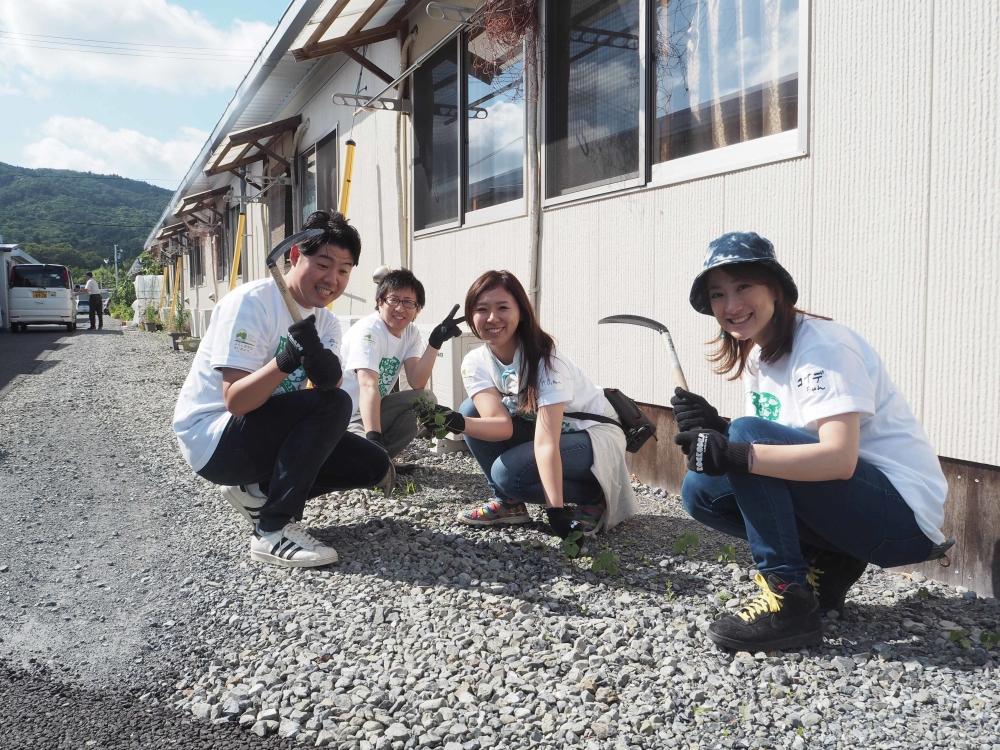 Rockcorpsのボランティアにサニーメンバーも参加!